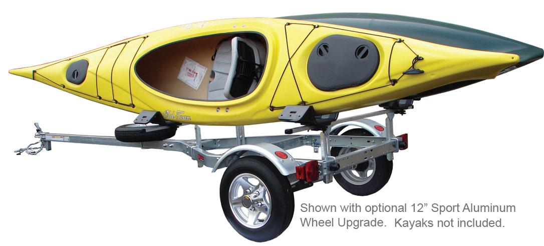 Remorque pour kayak of ma vente de garage for Porte kayak voiture